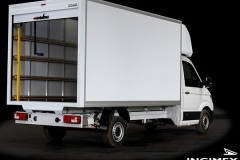 ארגז מקורר למשאית