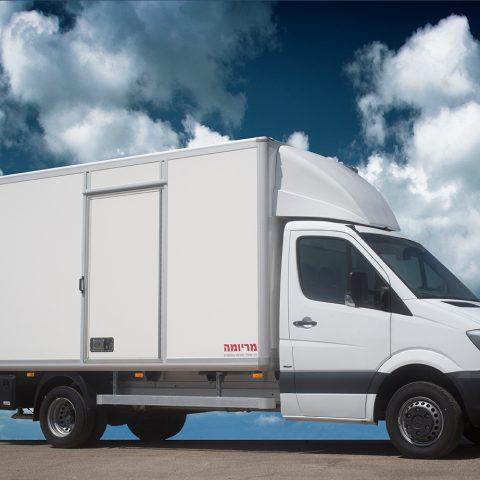 HLM – מרכב קל להפצת מטען יבש